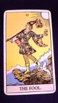 タロット大アルカナ「愚者」画像