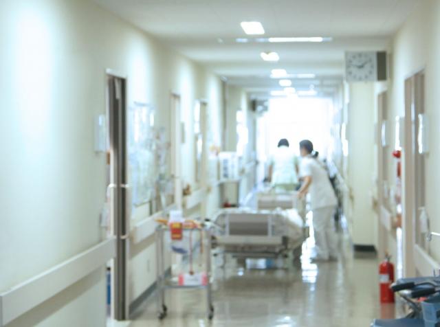 病院での一幕画像