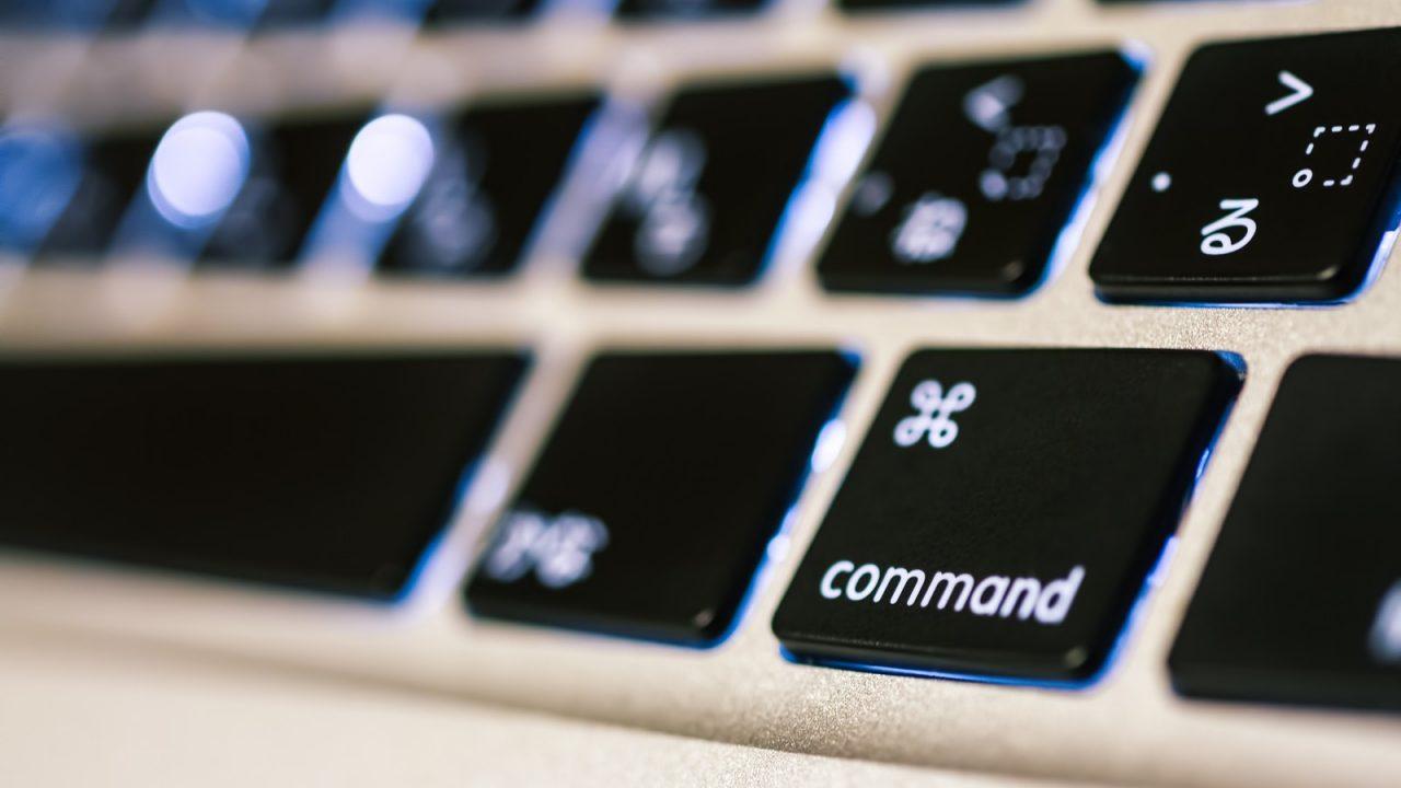 キーボードのコマンドボタン画像